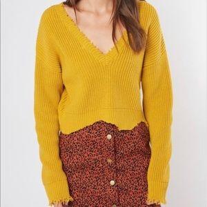 Sweaters - Honey Mustard Sweater